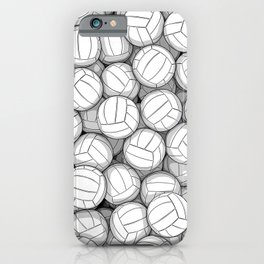 All I Want To Do Is Volleyball iPhone Case