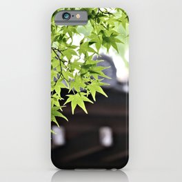 Leaf me to be iPhone Case