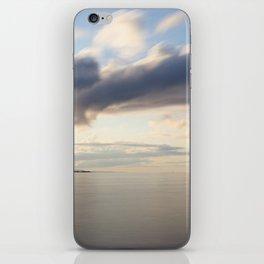 speed of sky iPhone Skin