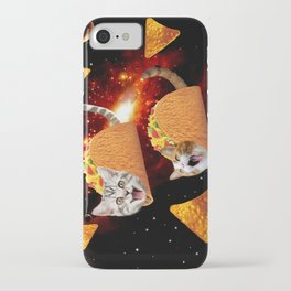 Taco Cats Space iPhone Case
