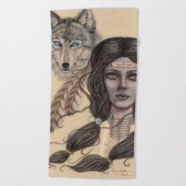Kindred Spirits Beach Towel