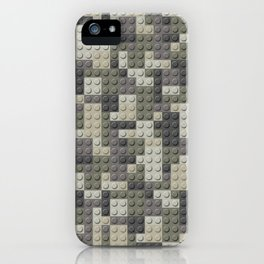 Legobricks camouflage iPhone Case