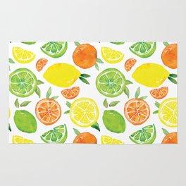 Citrus Pattern Rug
