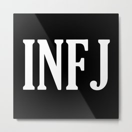 INFJ Metal Print