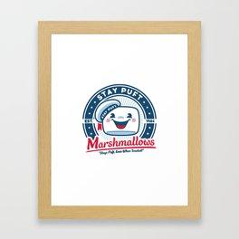 Stay Puft Marshmallows Framed Art Print