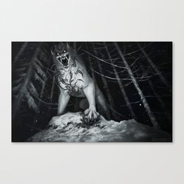 Deep in the NOPE forest Canvas Print