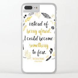 The Cruel Prince Quote Holly Black V2 Clear iPhone Case
