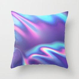 Bold Iridescence Throw Pillow