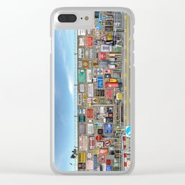 Public Guidance System Clear iPhone Case