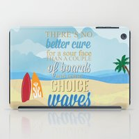 lilo and stitch iPad Cases featuring choice waves.. lilo and stitch by studiomarshallarts