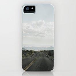 California road trip, Mojave Desert iPhone Case