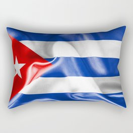 Cuba Flag Rectangular Pillow