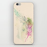 breathe iPhone & iPod Skins featuring Breathe  by rskinner1122