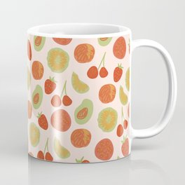 Summer Farmers Market Print Coffee Mug