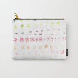 170404 Steady Pacing 4|Modern Watercolor Art | Abstract Watercolors Carry-All Pouch