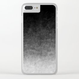 B&W Cloud Atmosphere Clear iPhone Case