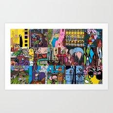 LEMONSQUARES Art Print