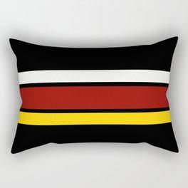 TEAM COLORS 2.....maroon,yellow Rectangular Pillow