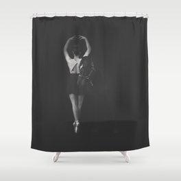 ballet shoes + horse shoes. Shower Curtain