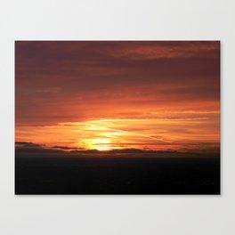 SETTING SUN II Canvas Print
