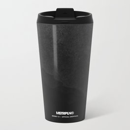 Minimal Splash - Dark Metal Travel Mug
