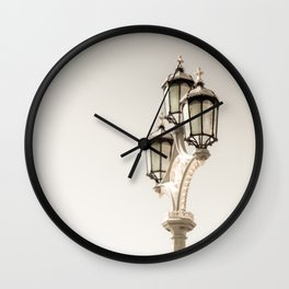 Three Crowns Wall Clock