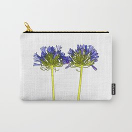 Agapanthus Cartoon Carry-All Pouch