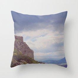 Corinthian Skies Throw Pillow