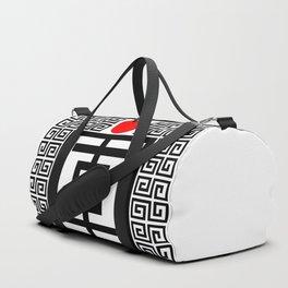 Tokyo Sun - Sacred Abstract Minimalism Duffle Bag