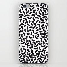 black worms iPhone & iPod Skin