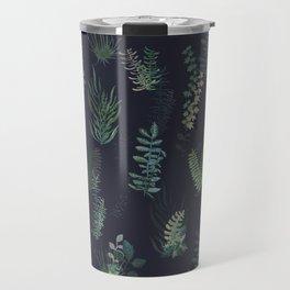 green garden at nigth mirror!!! Travel Mug