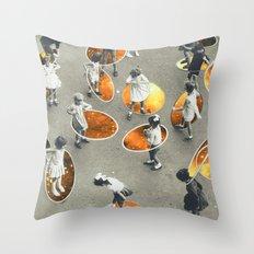 Ula space Throw Pillow