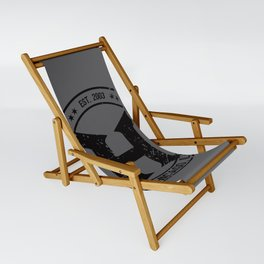 HEMI - H Crest - Black Sling Chair