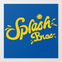 Splash Bros Canvas Print