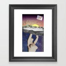 Routine Maintenance Framed Art Print