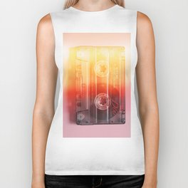 Cassette#exposure#film#effect Biker Tank