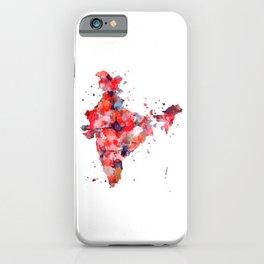 India Map iPhone Case