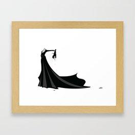 Béatrice Beheaded Framed Art Print