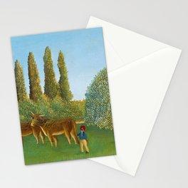 "Henri Rousseau ""Meadowland"" Stationery Cards"