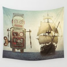 sailing takes me away... Wall Tapestry