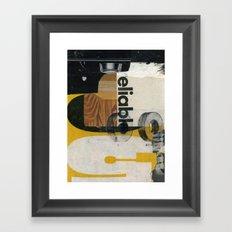no go Framed Art Print