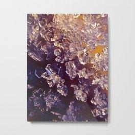 Ice in Close Proximity  Metal Print