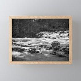 Dochart Falls Framed Mini Art Print