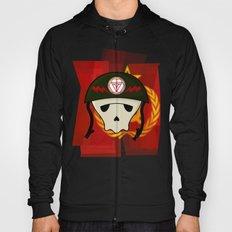 Russian skull Hoody