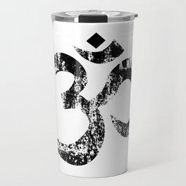 Om Rubber Stamp Travel Mug