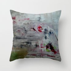 orchid mist Throw Pillow