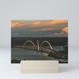 JK Bridge Mini Art Print