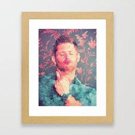 The Finger Framed Art Print