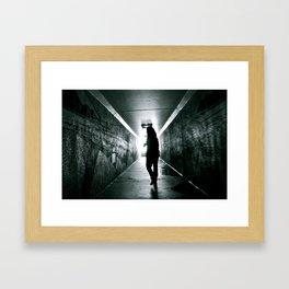 The Light Framed Art Print