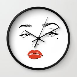 The Girl Next Door Wall Clock
